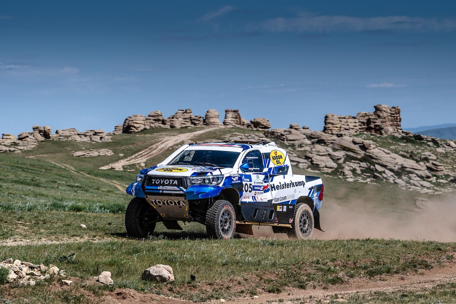 Tweede tijd voor Van Loon op laatste Mongoolse etappe