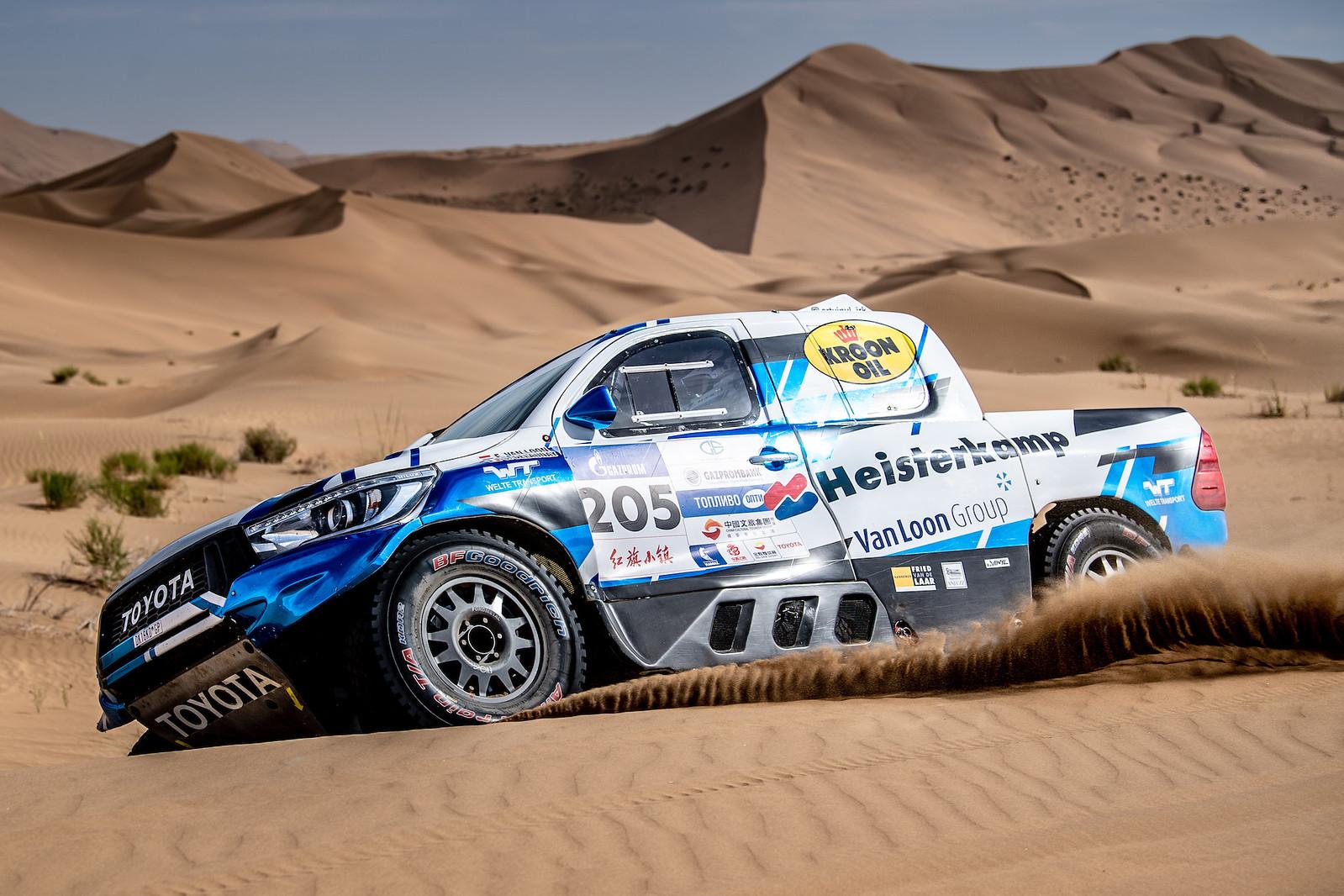 Van Loon wil zoveel mogelijk kilometers maken in Marokko
