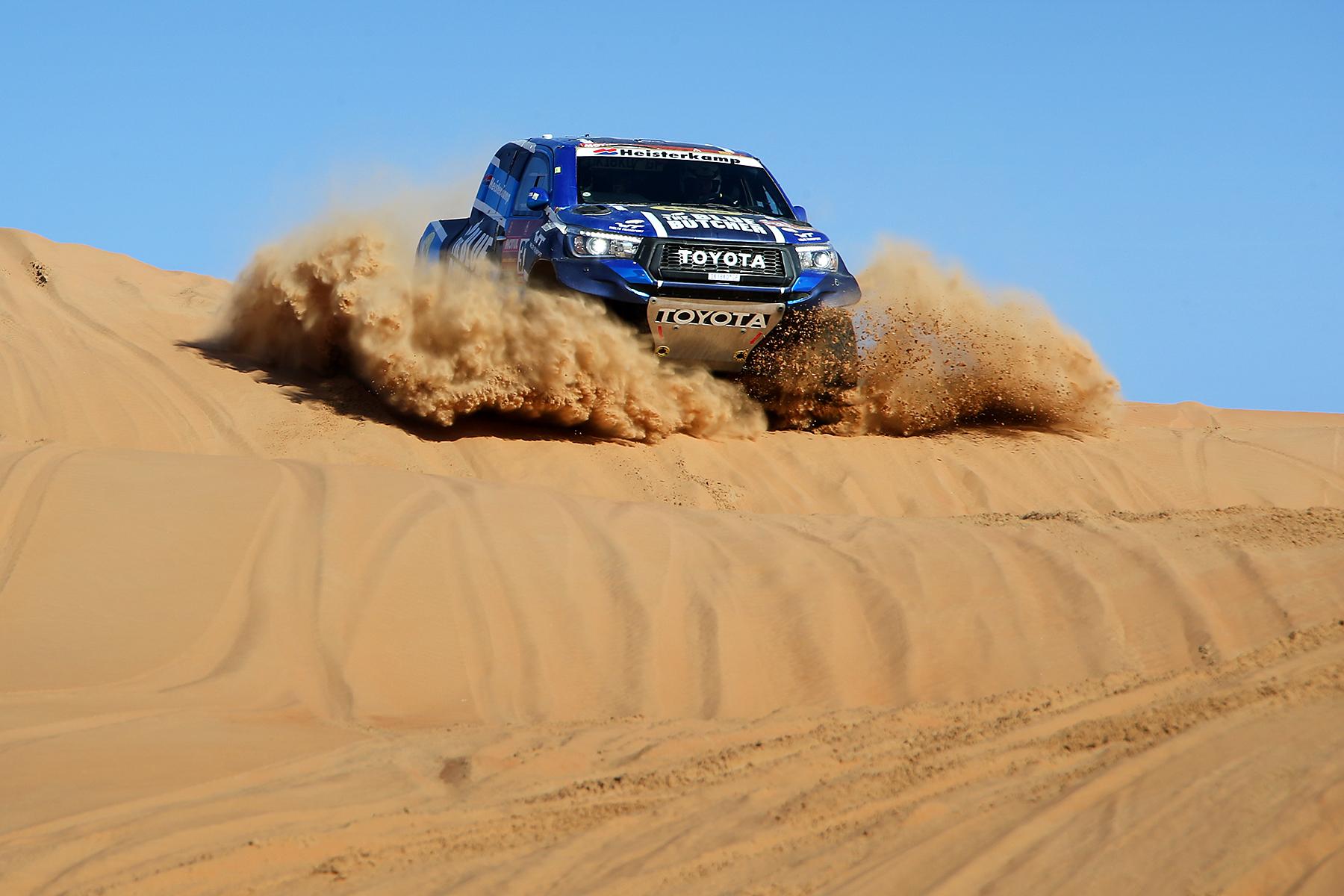 Van Loon is blij met finish in Dakar 2020