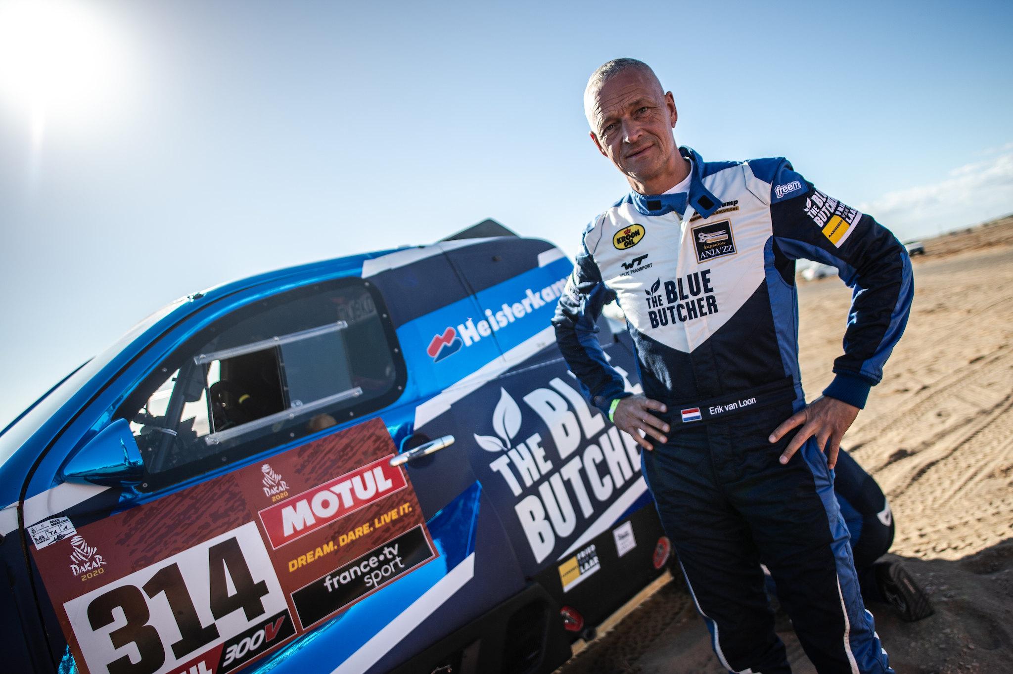 Van Loon kijkt uit naar eerste Cross Country rally van het seizoen