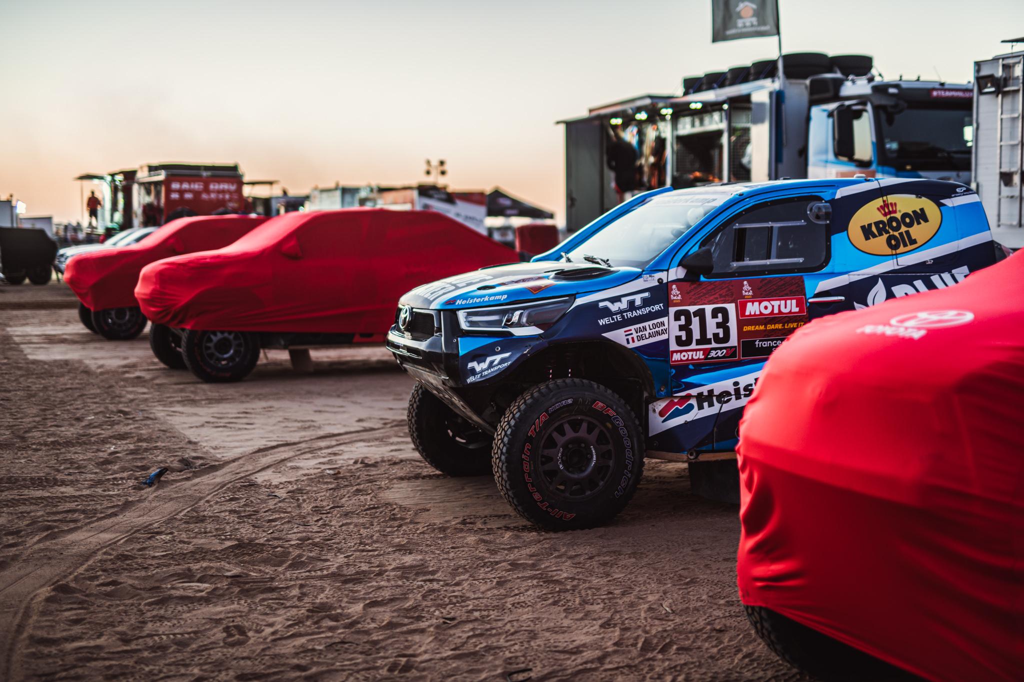 Van Loon begint voorbereiding op Dakar in Saudi-Arabië