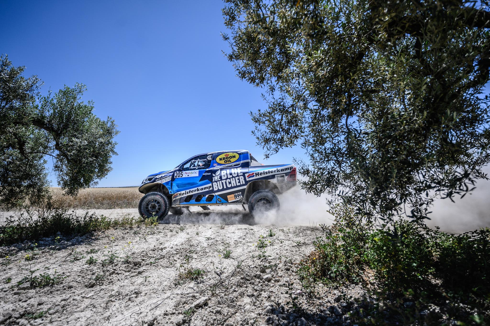 Van Loon klimt naar de vierde plaats in Andalusië