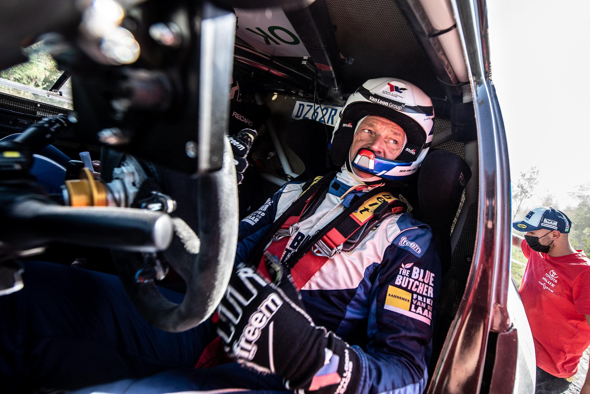 Rallye du Maroc wordt uitgebreide test voor Van Loon